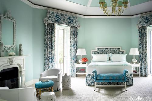 Bạn có biết màu phòng ngủ chi phối tâm lý và chuyện chăn gối của bạn ?