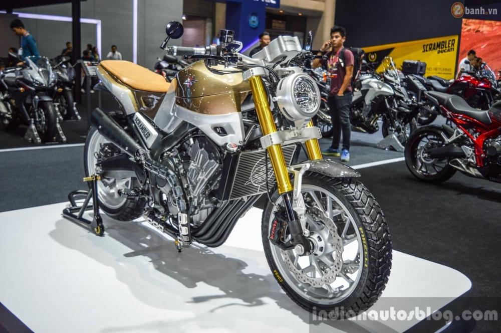 Hình ảnh Honda CB650 Scrambler