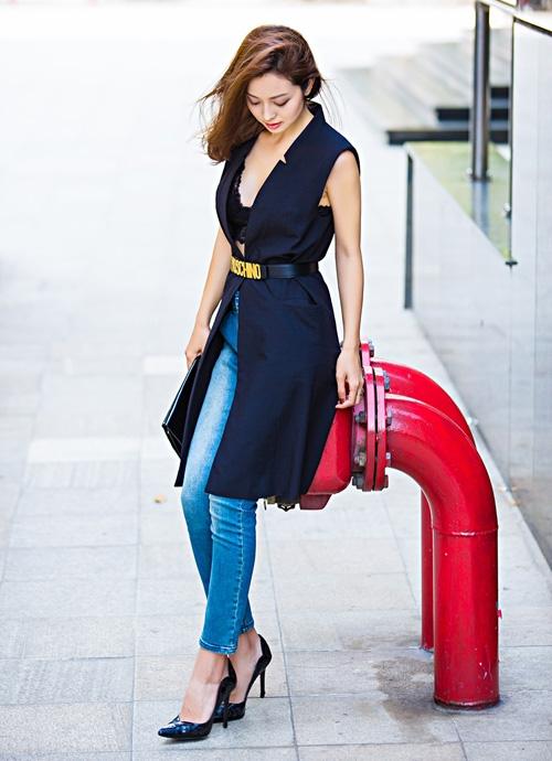 Jennifer Phạm với phong cách thời trang ngày càng ấn tượng