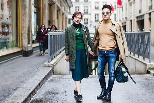 SM Thùy Trang bị chê béo ở kinh đô thời trang Paris