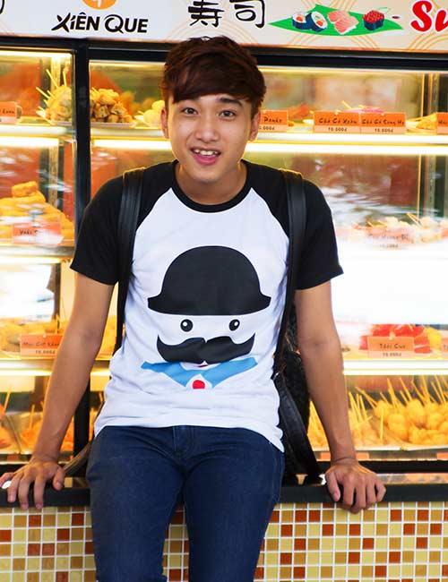 Áo thun nam teen Gangnam Style cá tính cho các bạn trẻ