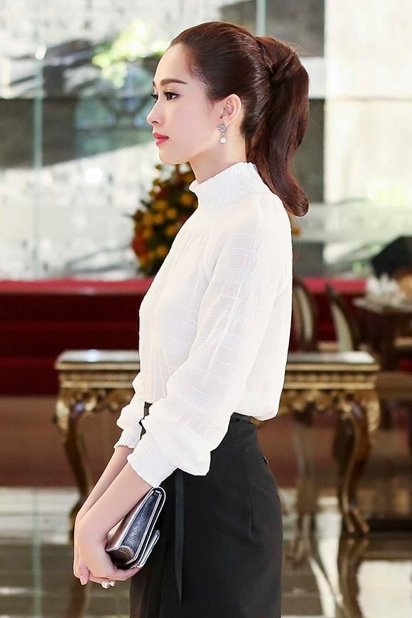 Bí quyết giải nhiệt mùa hè với tóc đuôi ngựa đẹp như mỹ nhân Việt