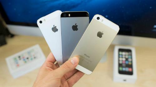 IPhone 5s chính hảng giảm giá trên diện rộng