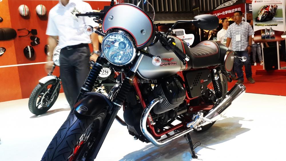 Moto Guzzi V7 II Racer độ Cafe Racer đậm chất Ý