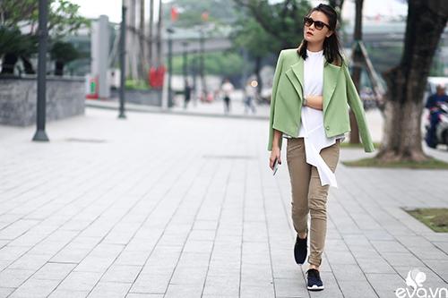 Phái đẹp Hà Nội mong manh trong trang phục xuân