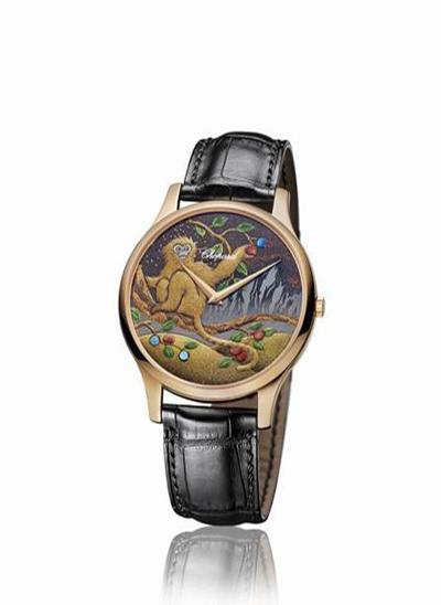 Săm soi đồng hồ Chopard năm Thân duy nhất tại Việt Nam