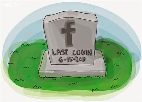 Tài khoản mạng xã hội 'một di sản để lưu niệm'