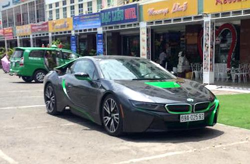 BMW i8 của đại gia Cà Mau