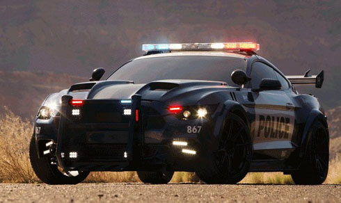 Ford Mustang trở lại Transformers: The Last Knight