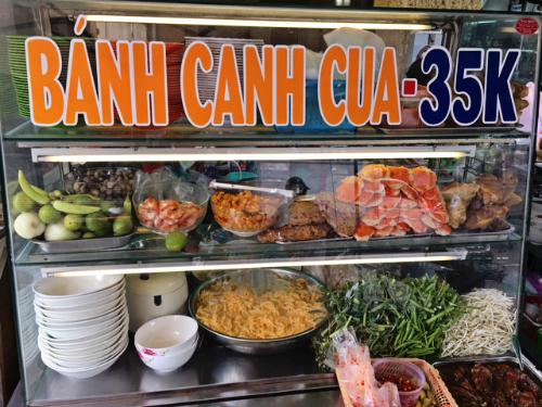 Ngon miệng bánh canh cua ở Sài Gòn