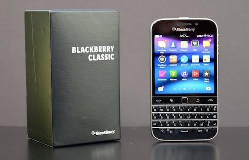 NSX BlackBerry ngừng sản xuất điện thoại Classic
