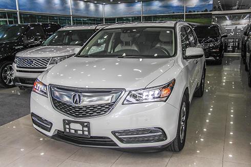 Acura MDX 2016 - SUV chiếc xe có thế kế 'sang chảnh