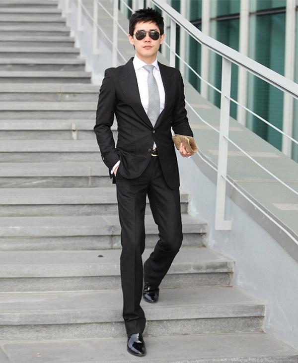 Áo vest nam công sở đẹp trẻ trung mạnh mẽ