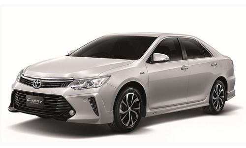 Bảng giá 6 phiên bản Toyota Camry 2016