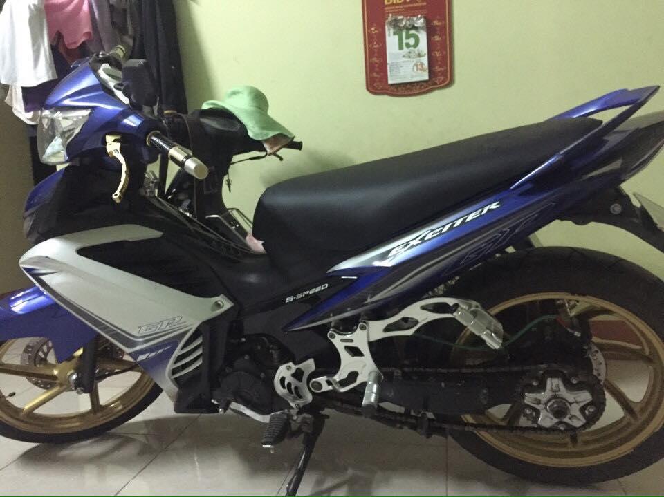 Exciter 135 niềm đam mê của biker Việt
