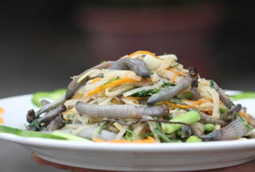 Hấp dẫn 5 món hải sản tên nghe lạ tai trên đảo Quan Lạn