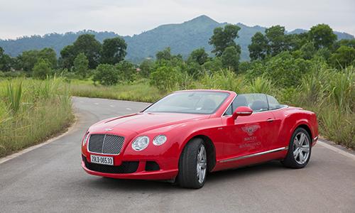 Hình ảnh chi tiết Bentley Continental GTC