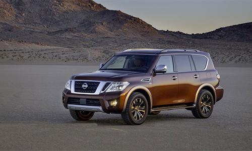 Nissan Armada mới - đối thủ Honda Pilot, giá từ 44.400 USD