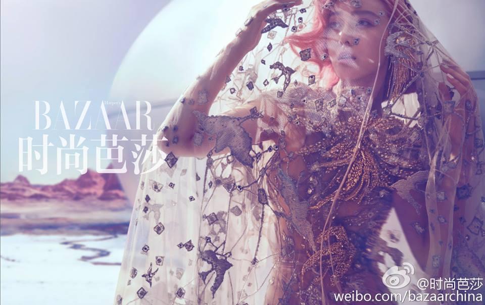 Vẻ đẹp gợi cảm và khác lạ của Phạm Băng Băng