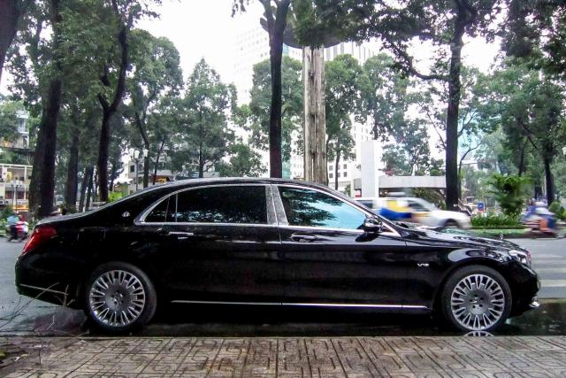 """Mercedes S600 dòng Maybach """"Xe đẳng cấp"""" Xuất Sài Gòn"""