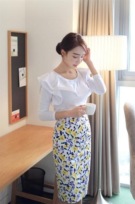 Áo sơ mi nữ trắng đẹp Hàn Quốc cho nàng duyên dáng