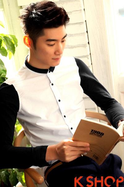 Cách phối áo sơ mi nam đẹp như sao Hàn