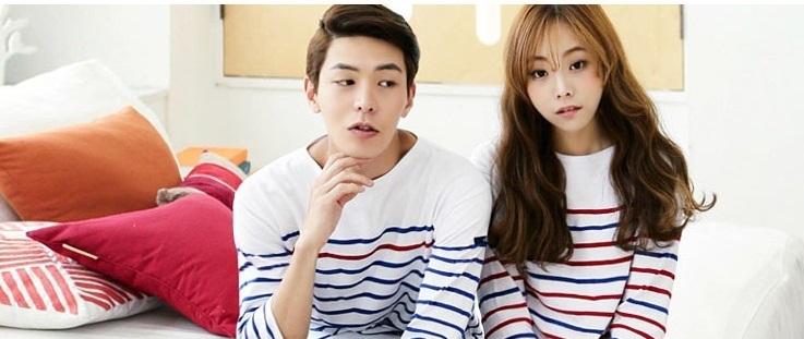 Áo len đôi đẹp kiểu Hàn Quốc ấm áp dành cho trai tài gái sắc
