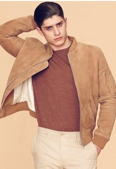 BST áo khoác da nam đẹp từ thương hiệu Louis W