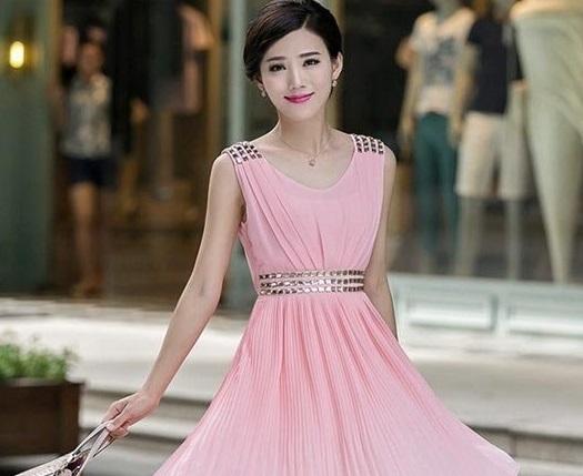 Váy đầm dự tiệc tôn dáng chuẩn hè 2017
