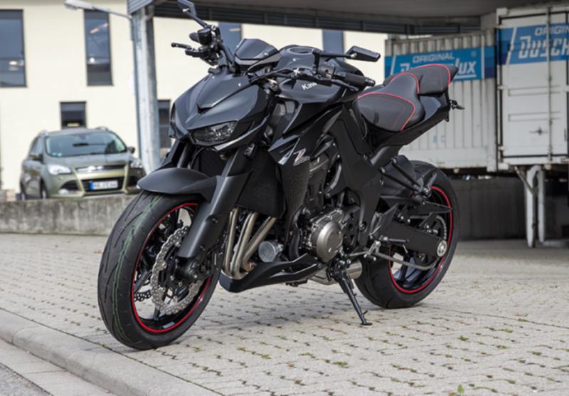 Kawasaki Z1000 2015 siêu ngầu với phiên bản Black Höly Edition