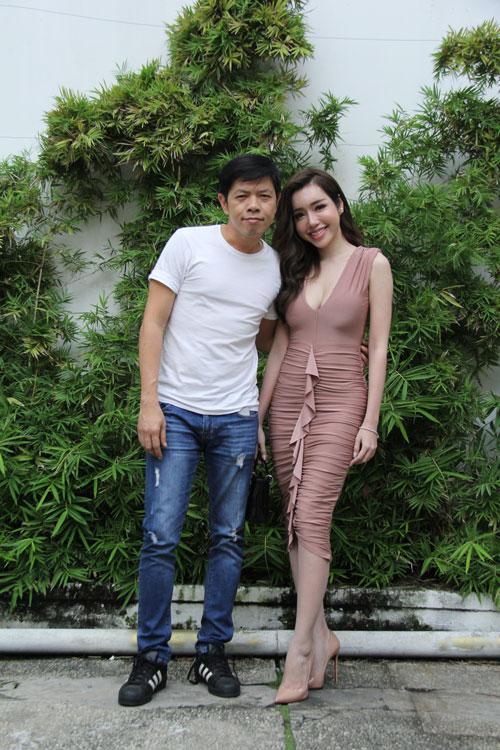 Elly Trần gợi cảm, sánh đôi Thái Hòa