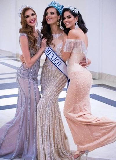 Hoa hậu Mexico mua váy 3.500 USD của NTK Việt