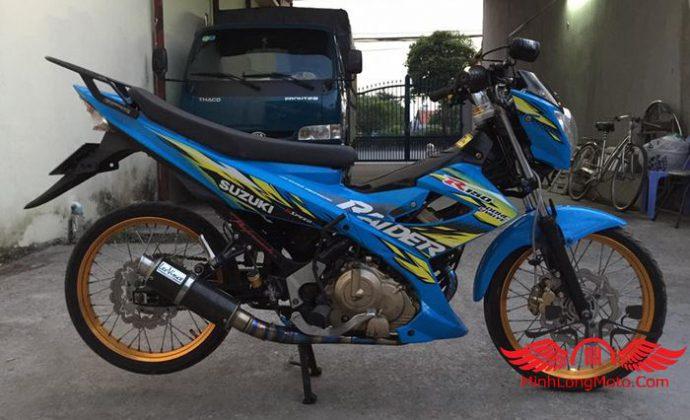 Hình ảnh hơn 10 mẫu Raider độ cá tính từ biker Việt