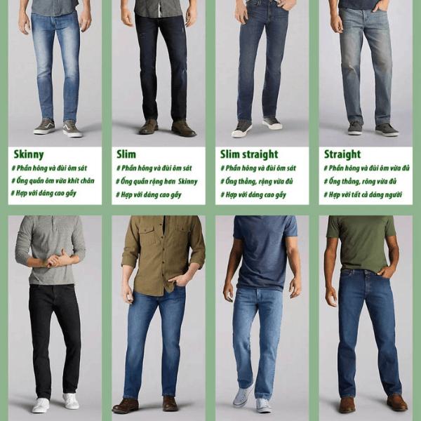 Bí quyết phối quần jeans nam mà bạn nên biết