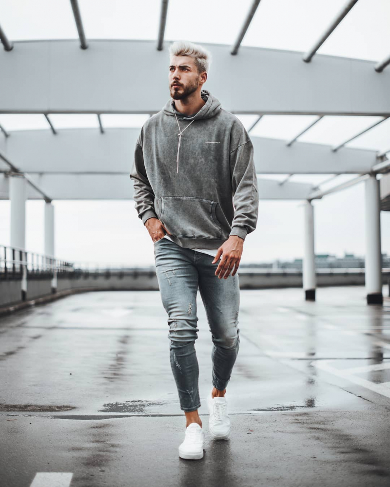 4 gợi ý phối quần skinny jeans đậm chất streetwear cho anh chàng phong cách