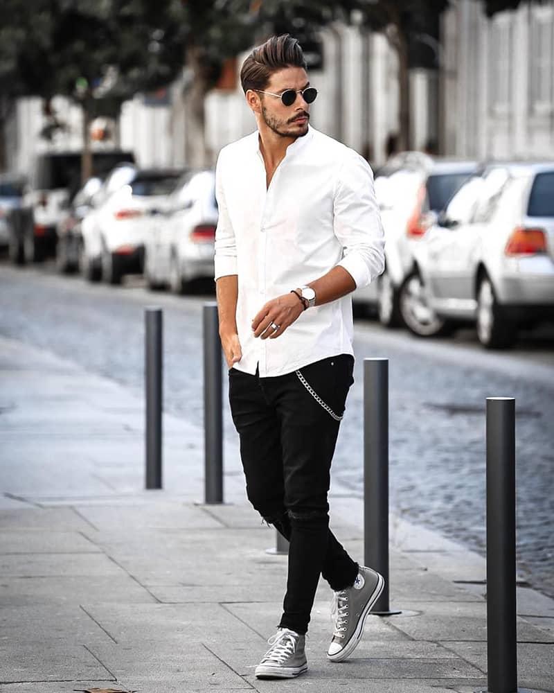 10 cách mix đồ với quần jean nam cực phong cách
