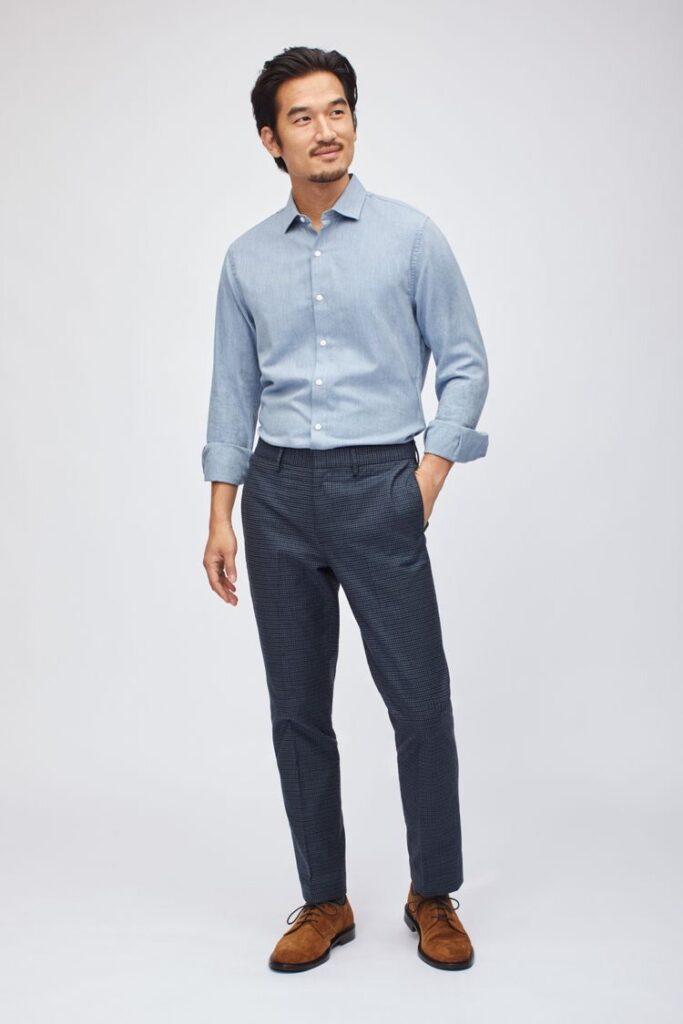 4 cách phối áo sơ mi oxford giúp chàng đơn giản nhưng đầy cá tính