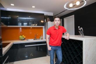 Hình ảnh căn hộ cao cấp của Lê Hoàng The Men