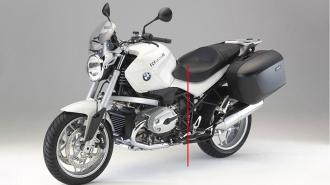 Chiều cao yên môtô được đo như thế nào?
