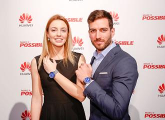 Huawei ra mắt đồng hồ thông minh tại MWC tên W1