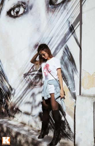 'Nữ hoàng rap Việt' Suboi với street style bụi bặm