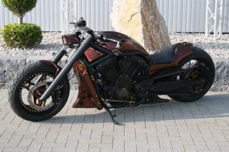 Phiên bản độ mang tên GP1 No Limit của Harley Davidson V-Rod