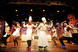 Bibap màn trình diễn được kết hợp ẩm thực với âm nhạc