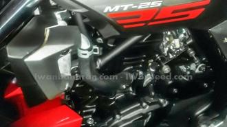 'Full HD' động cơ của chiếc nakedbike Yamaha MT-25
