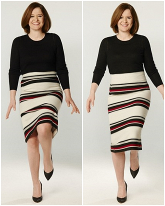 Hướng dẫn kiểm tra độ vừa - chật của váy áo
