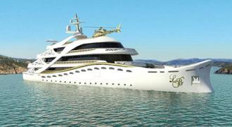 Nội thất xa xỉ được thiết kế riêng trên du thuyền Mỹ nhân triệu đô