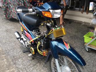 Honda Wave chiến của đất Rạch Giá