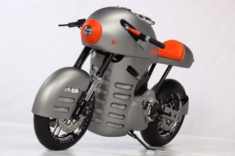 Iron Sturmvogel mô tô độ khủng với động cơ siêu lực
