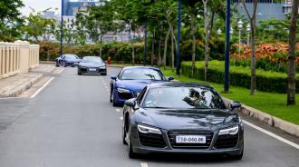 Dàn xe sang Audi đã đổ bộ lên đảo Phú Quốc