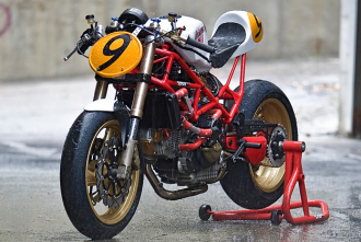 Hình ảnh Radical Ducati chiếc xe độ mạnh mẽ trong từng đường nét